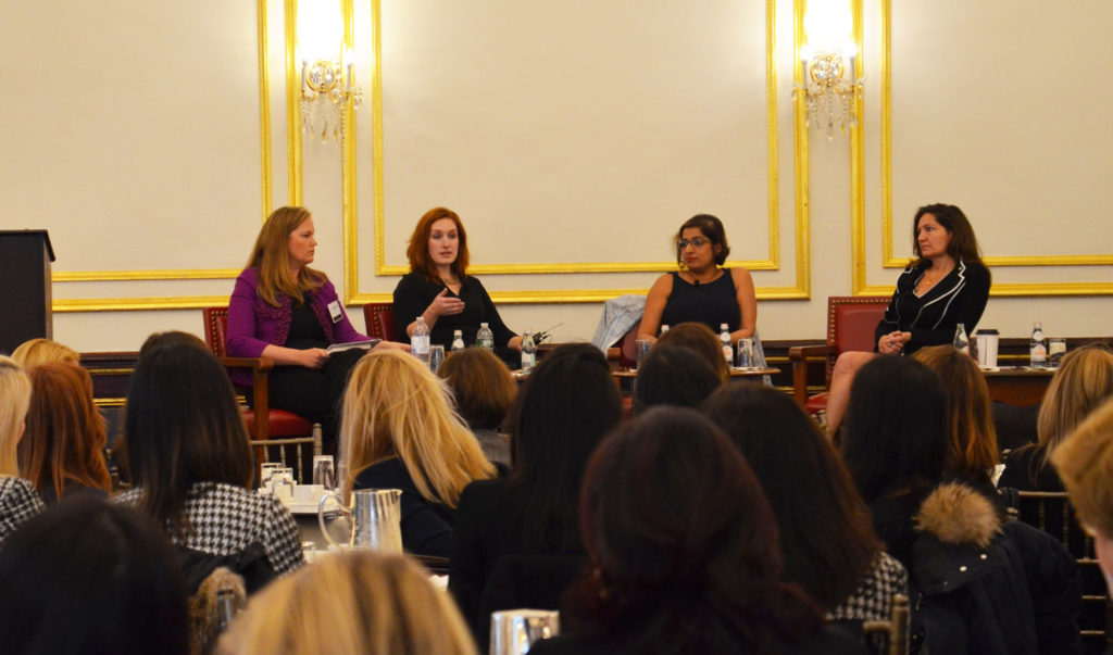 panel discussion during women investors' session at AIF Annual Meeting
