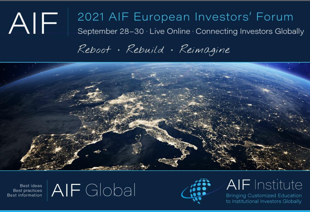 2021 AIF European Investors' Forum